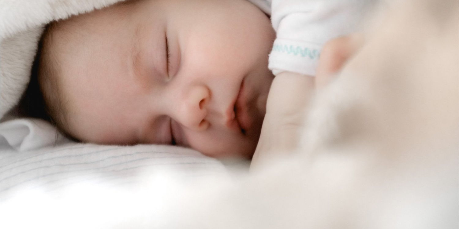 Baby/Infant Sleeping after parents take the Baby Sleep Essentials Course from Talkin' Sleep